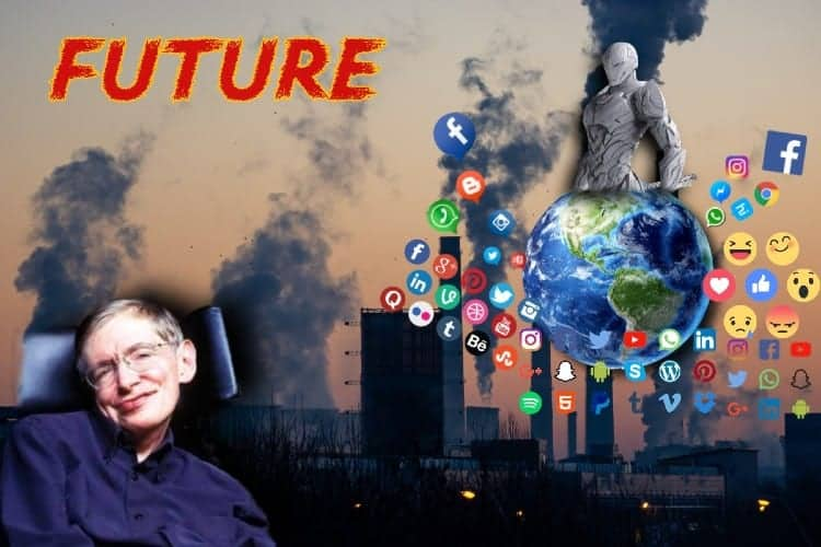 #7 Stephen Hawking IQ predicted Warnings For Scary future alines