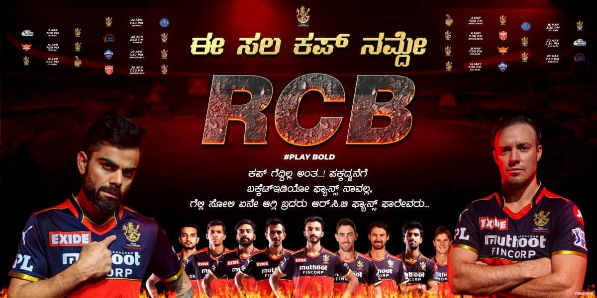 Royal Challengers Bangalore is the Most Powerful Team in IPL 2021