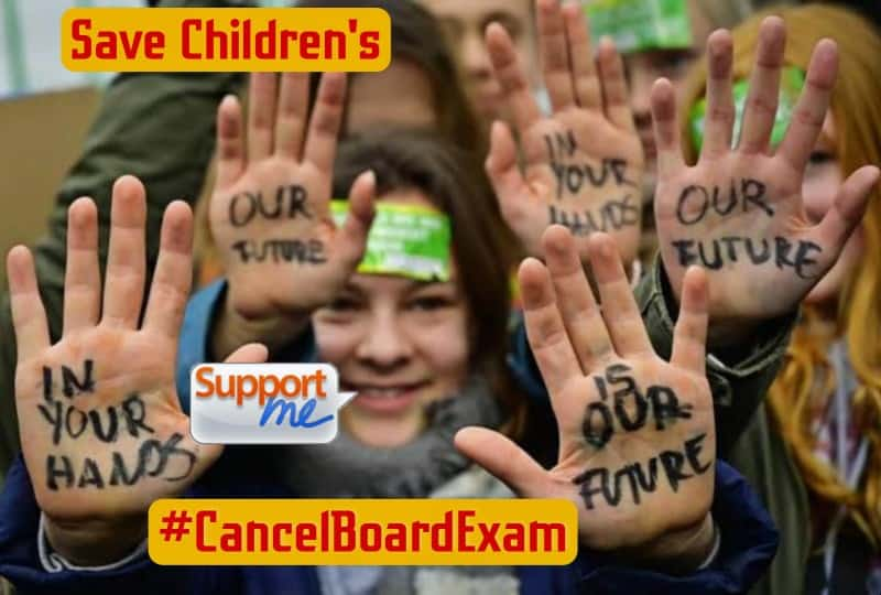 #CancelAllBoardExams Support here Latest News Update