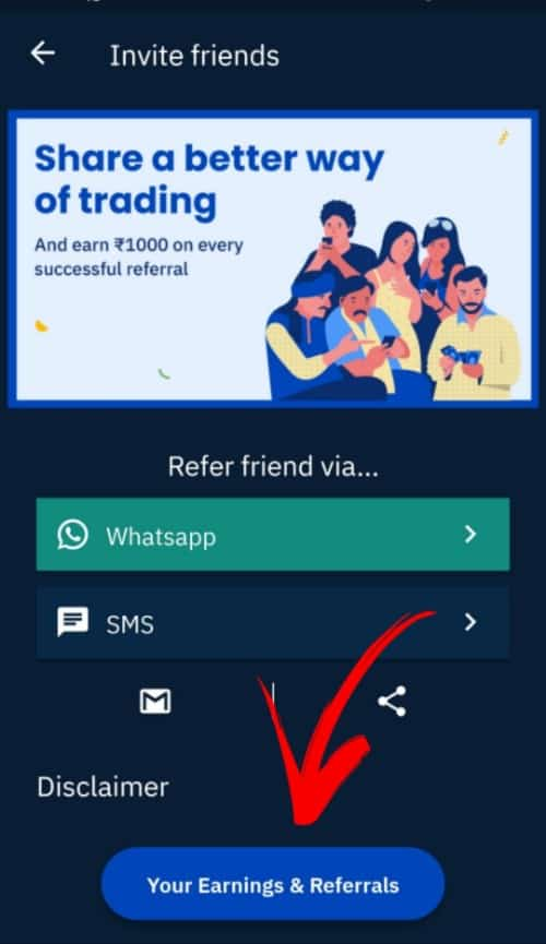 How to Refer a Friend to Upstox _ How to withdraw money from Upstox Referal Dashboard to a bank account
